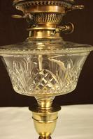 Antique Victorian Oil Lamp & Shade (9 of 12)