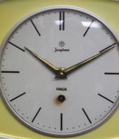 Rare Kitch Ceramic Pot Clock – Junghans 1940s Kitchen Wall Clock (3 of 6)