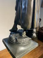 Spelter Figure of a Water Carrier (5 of 6)
