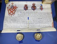 Queen Elizabeth II Grant for a Name & Coat of Arms (18 of 19)