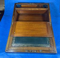 Victorian  Walnut Writing Slope with Secret Drawers (5 of 17)