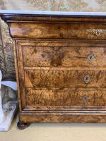 18th Century Burr Walnut Commode (3 of 9)