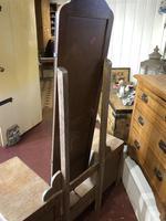 Limed Oak Art Deco Dressing Table Vanity Stand (6 of 11)