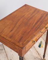 Regency Mahogany Work Table (4 of 6)