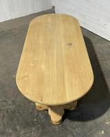 French Bleached Oak Monastery Dining Table (21 of 30)
