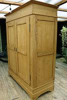 Big Old Victorian Pine Double Knock Down Wardrobe - We Deliver/ Assemble! (5 of 17)