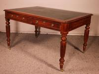 Early 19th Century Partner Desk in Mahogany (4 of 10)