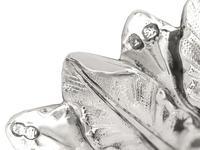Sterling Silver Three Light Candelabrum Centrepiece - Antique George IV (16 of 21)