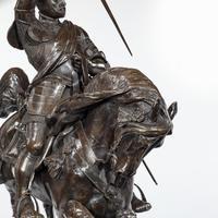 Italian Bronze Equestrian Sculpture of Emanuele Filiberto, Duke of Savoia, by Baron Carlo Marochetti (11 of 17)