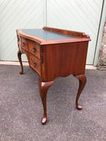 Antique Burr Walnut Writing Desk (7 of 9)