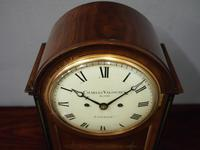 George IV Mantel Clock by Charles Valogne, London (8 of 10)