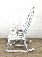 Antique Distressed Painted Rocking Chair (8 of 9)