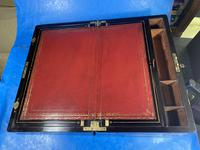 Victorian Full Brassbound Rosewood Writing Slope (18 of 19)
