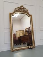 Tall French Antique Mirror c1850 (2 of 9)