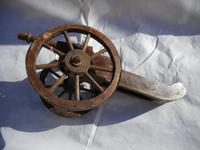 Large Wooden Model of a Cannon (3 of 5)