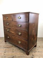 Antique George III Mahogany Chest of Drawers (6 of 10)
