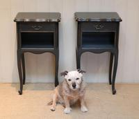 Pair of Painted Bedside Cabinets (2 of 9)