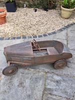 Vintage Eureka Bugatti Pedal Car Original 1930's (6 of 12)