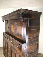 18th Century Welsh Oak Deuddarn Cupboard (4 of 12)