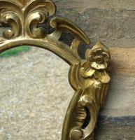 Antique Florentine Shield Shape Mirror (3 of 5)