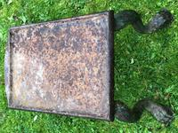 French 18th Century Georgian Grand Tour Garden Cast Iron Plinth Table Claw Feet (23 of 33)