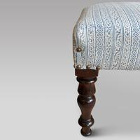Reupholstered Stool (2 of 2)