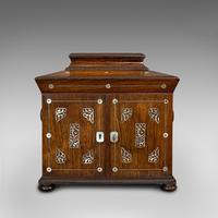 Antique Gentleman's Correspondence Box, Campaign, Travel Case, Regency, C.1820 (2 of 12)