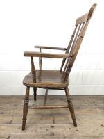Antique 19th Century Beech & Elm Windsor Armchair (11 of 13)
