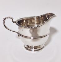 Antique Solid Silver Milk Cream Jug (6 of 8)