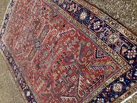 Antique Heriz Carpet (7 of 12)