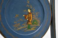 Antique Edwardian Lacquered Chinoiserie Cake Stand (8 of 12)