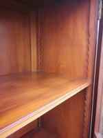 Chippendale Style Glazed Mahogany Bookcase (8 of 10)