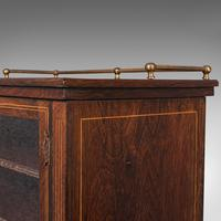 Antique Music Cabinet, English, Rosewood, Display Case, Victorian c.1900 (10 of 12)