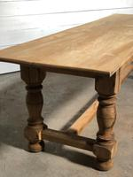 French large oak farmhouse dining table (10 of 38)