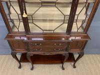 Carved Mahogany Display Cabinet by Warings (7 of 19)