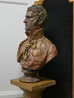 Composition Bust of  The 1st King of the Belgians, Leopold 1st (5 of 10)