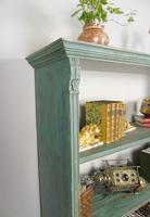 Antique Victorian Painted Bookcase (2 of 8)