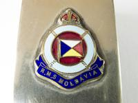 RMS Moladavia Match Box Cover WW1 (4 of 5)