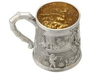 Chinese Export Silver Christening Mug - Antique c.1800 (2 of 12)