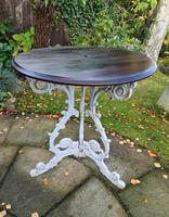 Cast-iron Patio or Conservatory Table (2 of 6)