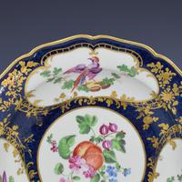 First Period Worcester Porcelain James Giles Lady Mary Wortley Montagu Soup Plate (3 of 8)