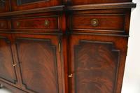 Antique Mahogany Breakfront  Bookcase (10 of 12)