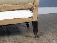 19th Century Deep Seated Country House Armchair (7 of 7)