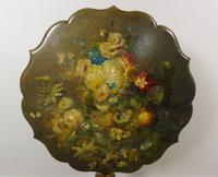 Antique Hand Painted Table Jennens & Bettridge (2 of 8)