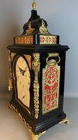 George III Ebonised Bracket Clock (10 of 15)