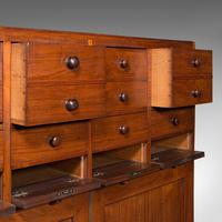 Antique Butler's Cabinet, English, Walnut, Estate, Chest of Drawers, Victorian (9 of 13)