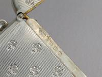 Edwardian Silver Vesta Case - Prince of Wales Feathers, By Mappin & Webb, Birmingham, 1909 (8 of 10)