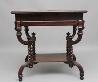 Early 20th Century Metamorphic Oak Desk (5 of 8)