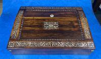 William IV Rosewood Lap Desk (6 of 18)