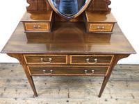 Edwardian Inlaid Mahogany Dressing Table (4 of 10)